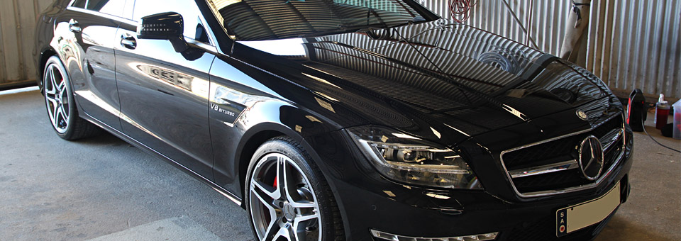 Mercedes CLS63 Paint protection