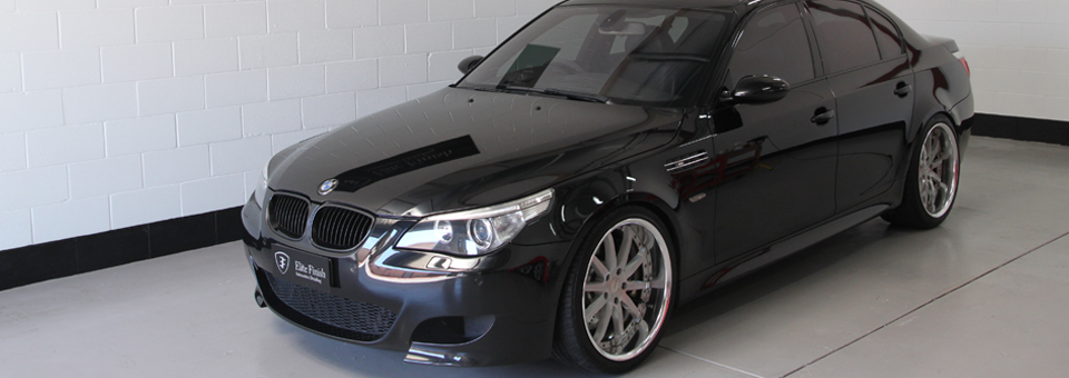 BMW M5 Paint protection