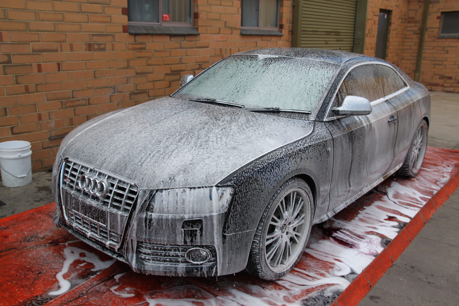 Audi S Stage Opticoat - Audi car wash