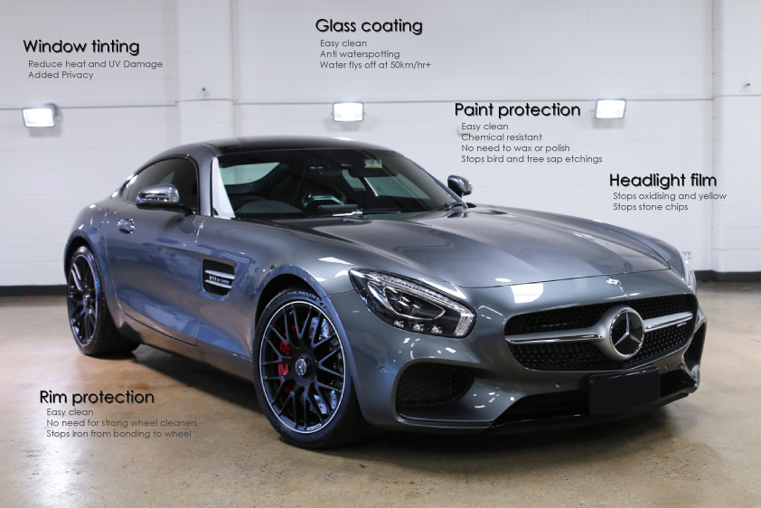 Opti-coat paint protection
