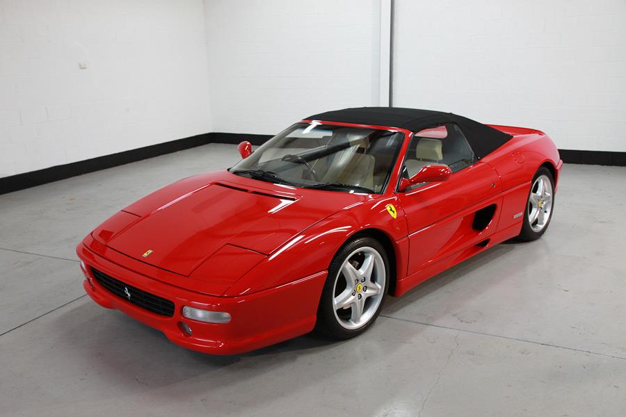 Ferrari 355 Spider Detailing